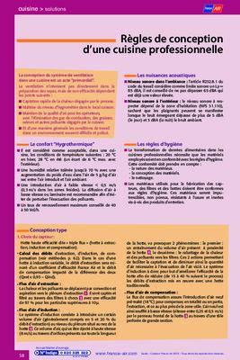 Regles cuisine notice manuel d 39 utilisation - Cuisine therapeutique ehpad ...