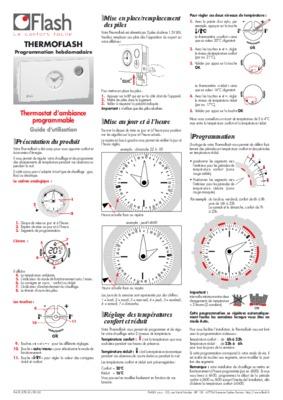 Thermoflash digital notice manuel d 39 utilisation - Thermoflash digi 2 ...