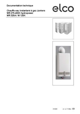 chauffe eau junkers notice manuel d 39 utilisation. Black Bedroom Furniture Sets. Home Design Ideas