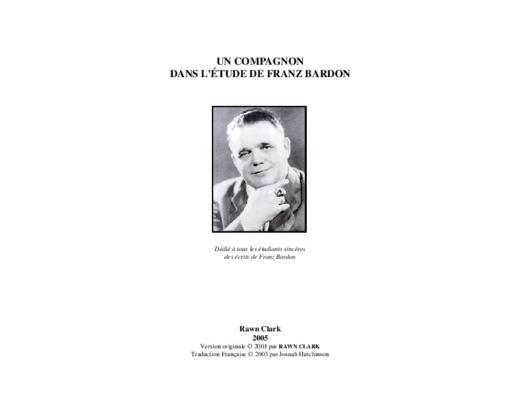 Franz Bardon - La pratique de la magie evocatoire