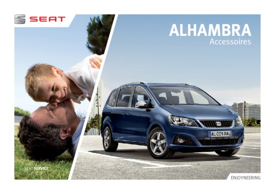 seat alhambra 2 0 notice manuel d 39 utilisation. Black Bedroom Furniture Sets. Home Design Ideas
