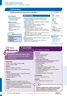 ISO TÉLÉCHARGER 19011 PDF 2011 NORME VERSION