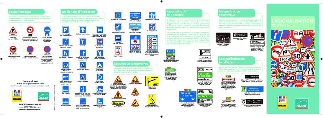 Extrêmement Exercices Panneaux De Signalisation.pdf notice & manuel d'utilisation JK56
