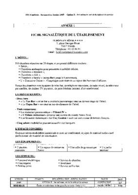 FORMULAIRE S1110