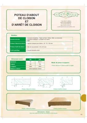 Cloison placostil notice manuel d 39 utilisation - Cloison placostil 72 48 ...