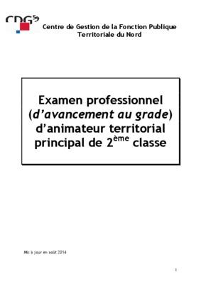 Examen professionnel notice manuel d - Grille indiciaire technicien principal 2eme classe ...