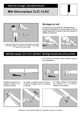 Mezzanine clic notice manuel d 39 utilisation - Patron housse bz ...
