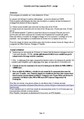 Exercice De Calcul Le Tableau Cout D_un Produit.pdf notice ...