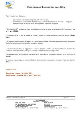 Rapport de stage dcg presentation notice - Rapport de stage 3eme cabinet medical ...