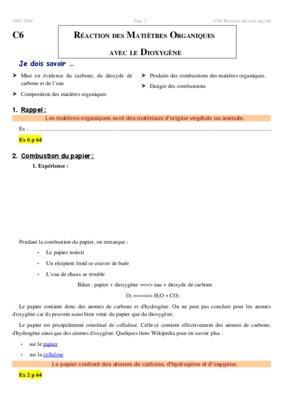 Combustion pouvoir notice manuel d 39 utilisation for Les types de combustion
