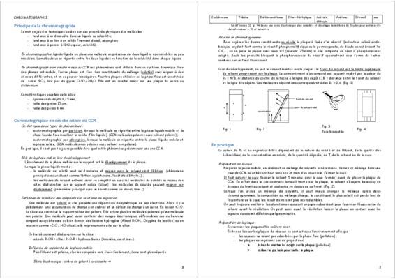Chromatographie d notice manuel d 39 utilisation - Chromatographie sur couche mince principe ...