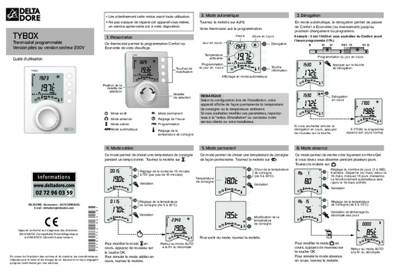 notice gp36 delta notice manuel d 39 utilisation. Black Bedroom Furniture Sets. Home Design Ideas