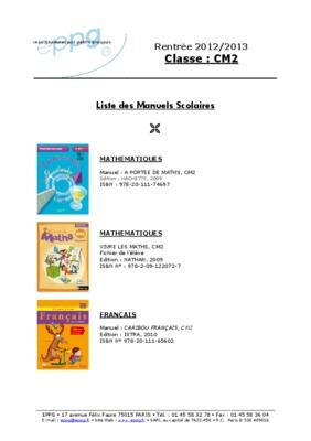 Corrige exercice 5 page 139 a portee de maths cm2 listes des fichiers pdf corrige exercice 5 - A portee de maths cm2 en ligne ...