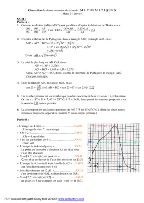 Correction Cned Latin Devoir 3 Seconde.pdf notice & manuel ...