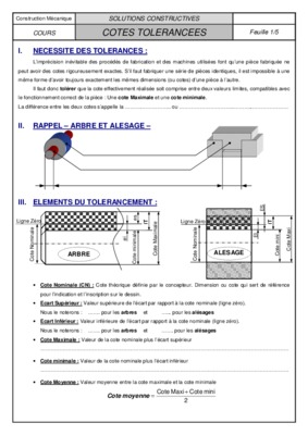 Construction mecanique solutions constructives cours visserie et notice manuel for Cours de construction pdf