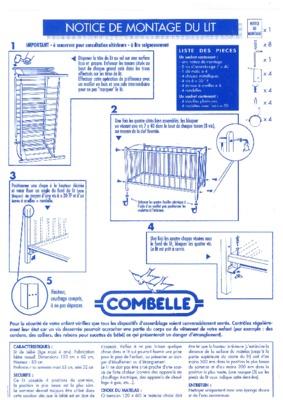 montage chambre noa bebe notice manuel d 39 utilisation. Black Bedroom Furniture Sets. Home Design Ideas