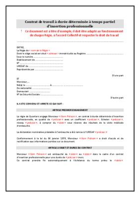 Contrat De Travail Algerie Pdf Sprookjesgrot