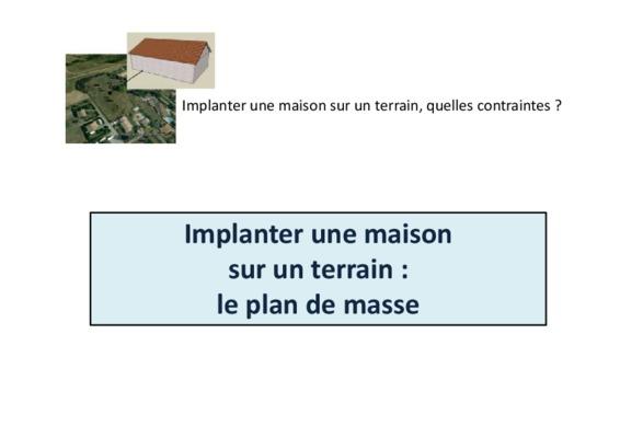 Plan notice manuel d 39 utilisation for Tracer un plan de maison