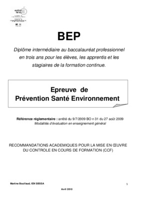 Cap cuisine sujet prevention sante - Sujet examen cap cuisine ...