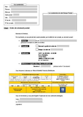 Code iban banque for Chambre de compensation bancaire