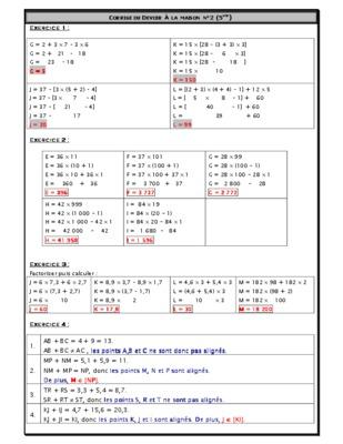 Francais 5eme Algerie Exercice.pdf notice & manuel d ...