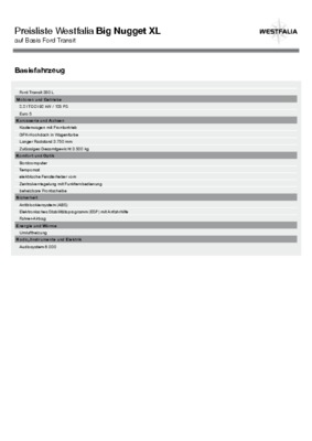 westfalia notice manuel d 39 utilisation. Black Bedroom Furniture Sets. Home Design Ideas