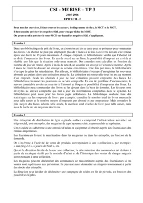 Merise Exercices Flux Mct Mot Corriges Pdf.pdf notice ...