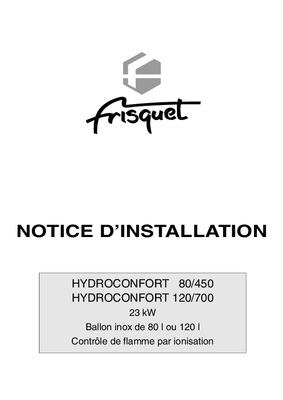 frisquet hydroconfort notice manuel d 39 utilisation. Black Bedroom Furniture Sets. Home Design Ideas